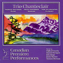 Trio Chanteclair CD with Norman Sherman